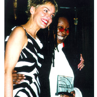 Whoopi with Sharon Stone