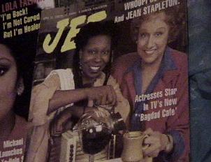 Whoopi as Brenda alongside her co star