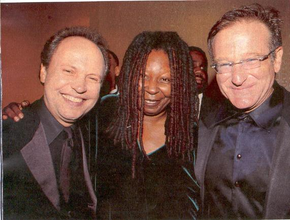Whoopi celebrates after being honoured with Mark Twain Prize for american humour