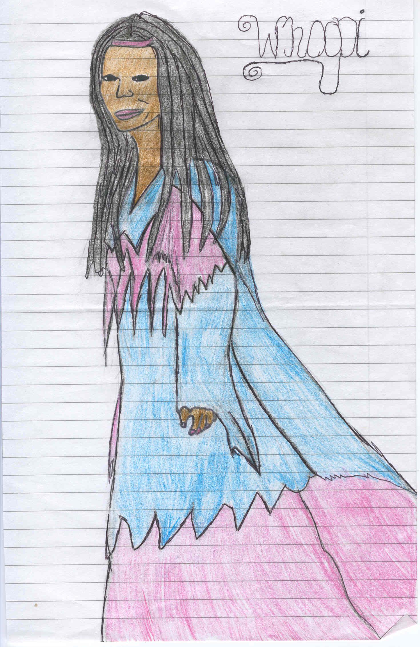 Whoopi Drawing