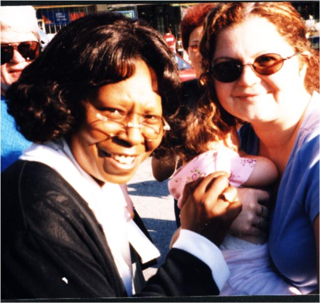 Whoopi with Michelle