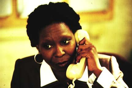 Whoopi as Harriet Franklin
